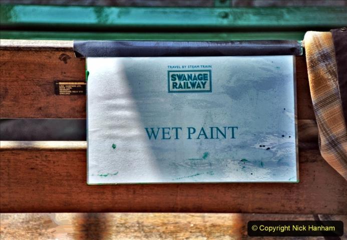 2020-06-23 Swanage Railway still in lockdown. (141) Swanage. 141