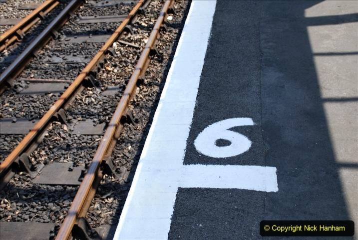 2020-06-23 Swanage Railway still in lockdown. (145) Swanage. 145