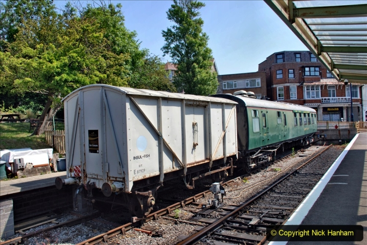 2020-06-23 Swanage Railway still in lockdown. (148) Swanage. 148