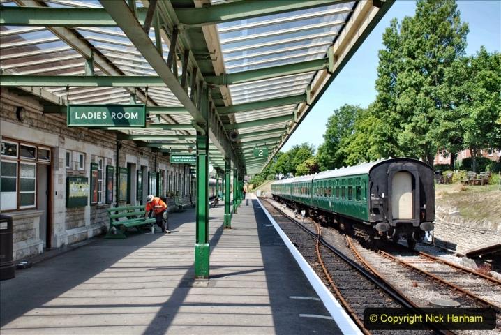 2020-06-23 Swanage Railway still in lockdown. (149) Swanage. 149