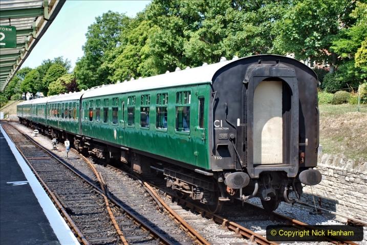2020-06-23 Swanage Railway still in lockdown. (150) Swanage. 150