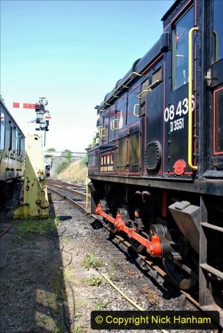 2020-06-23 Swanage Railway still in lockdown. (154) Swanage. 154