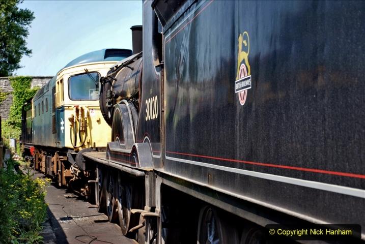 2020-06-23 Swanage Railway still in lockdown. (156) Swanage. 156