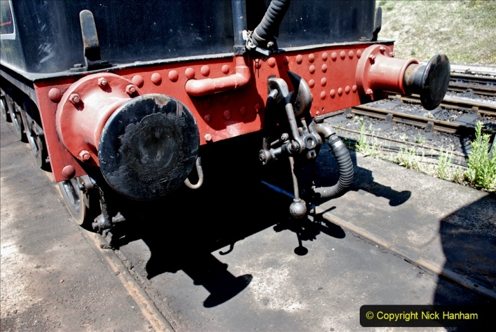 2020-06-23 Swanage Railway still in lockdown. (157) Swanage. 157
