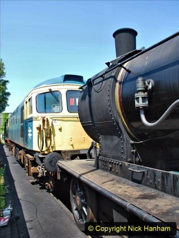 2020-06-23 Swanage Railway still in lockdown. (158) Swanage. 158