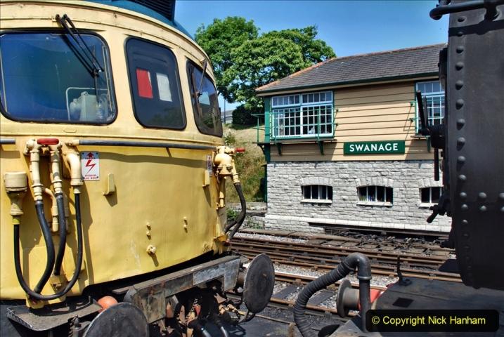 2020-06-23 Swanage Railway still in lockdown. (159) Swanage. 159