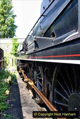 2020-06-23 Swanage Railway still in lockdown. (160) Swanage. 160