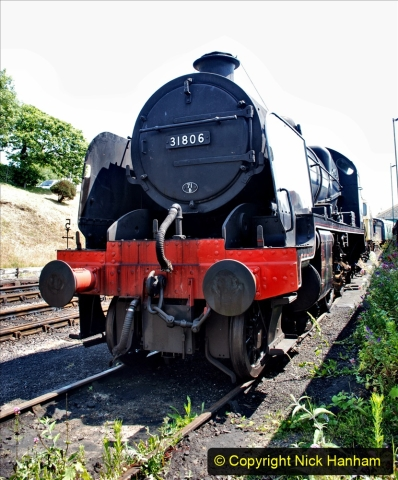2020-06-23 Swanage Railway still in lockdown. (161) Swanage. 161