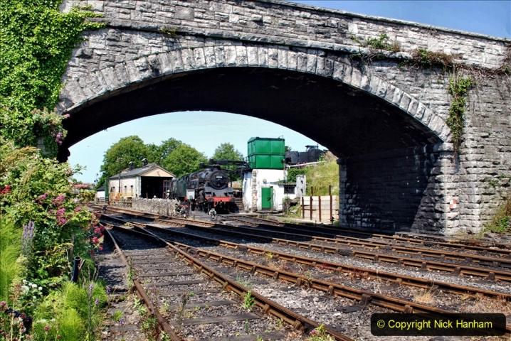 2020-06-23 Swanage Railway still in lockdown. (162) Swanage. 162
