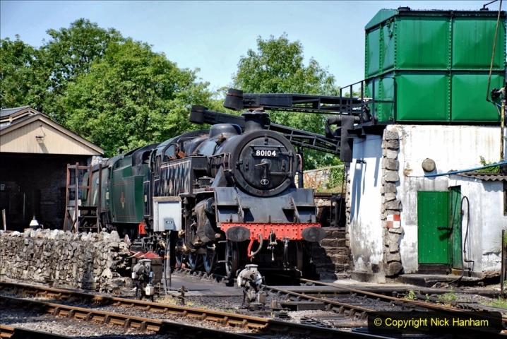2020-06-23 Swanage Railway still in lockdown. (163) Swanage. 163