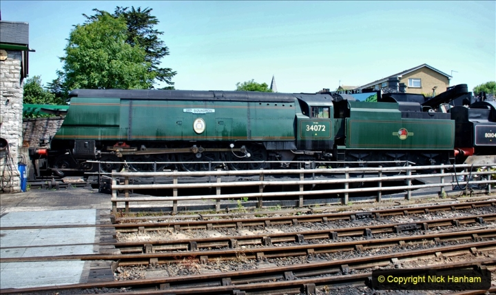 2020-06-23 Swanage Railway still in lockdown. (164) Swanage. 164