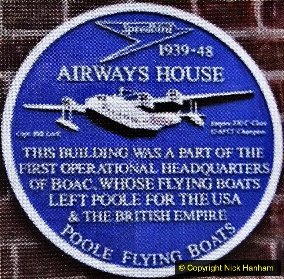2020-07-07 Poole and Flying Boats. (7) 007 Local Blue Plaques.