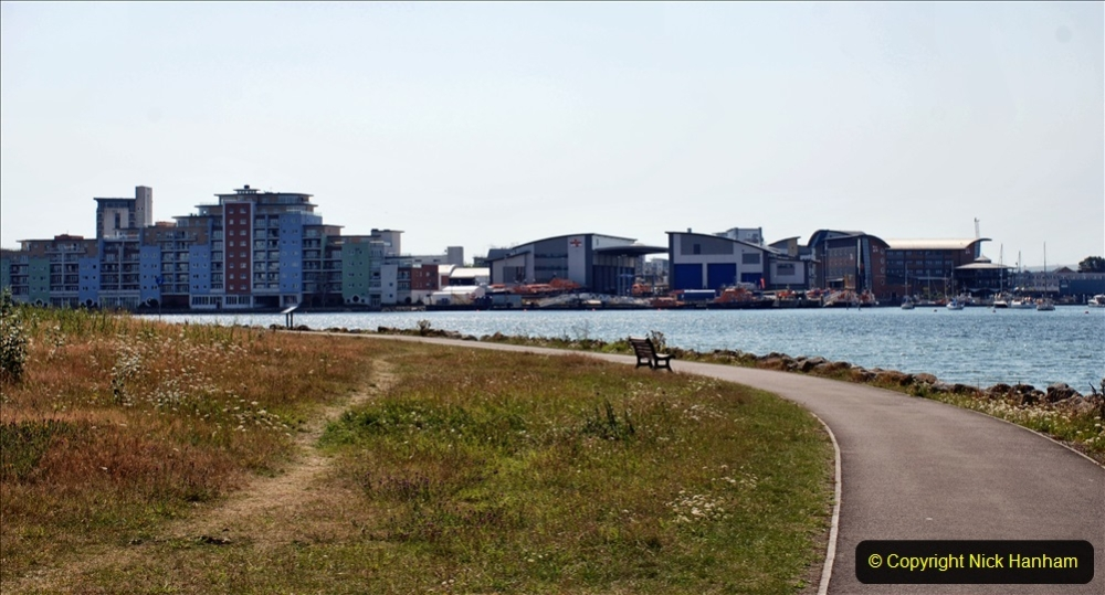 2020-07-31 Covid 19 Walk Poole Inner Harbour to Upton Country Park and return. (149)