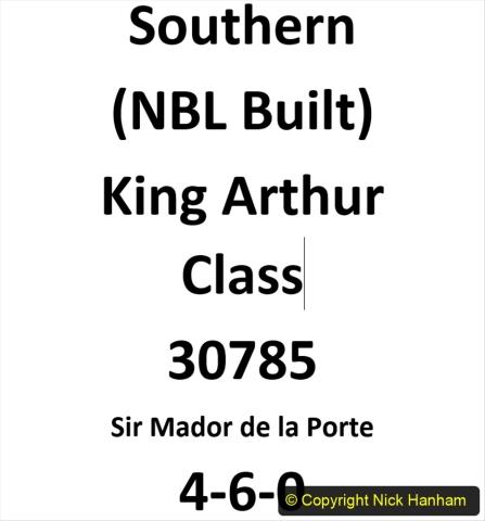 2020-06-03 King Arthur Class 30785 Sir Madoe de la Porte. (0)210
