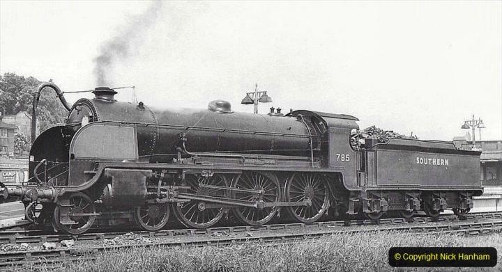 2020-06-03 King Arthur Class 30785 Sir Mador de la Porte. (9)219