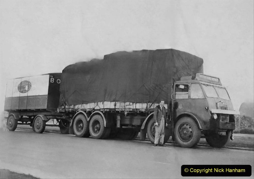 My Late Stepfather Jocelyn Hanham. (35) Waterden Road, London Depot. 1950. 035