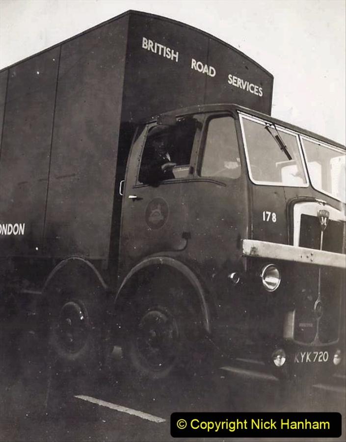 My Late Stepfather Jocelyn Hanham. (37) Waterden Road, London Depot. 1950. 037