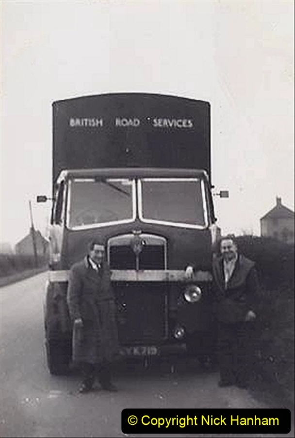 My Late Stepfather Jocelyn Hanham. (41) Gillingham, Dorset with mate Percy. 1958. 041