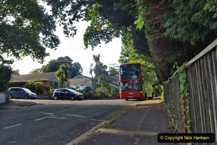 Covid 19 Walk. By bus to Poole and walk home. (1) 001