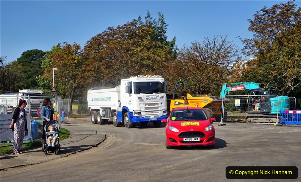 2020-09-17 Poole Park road work, Poole, Dorset. (6) 012