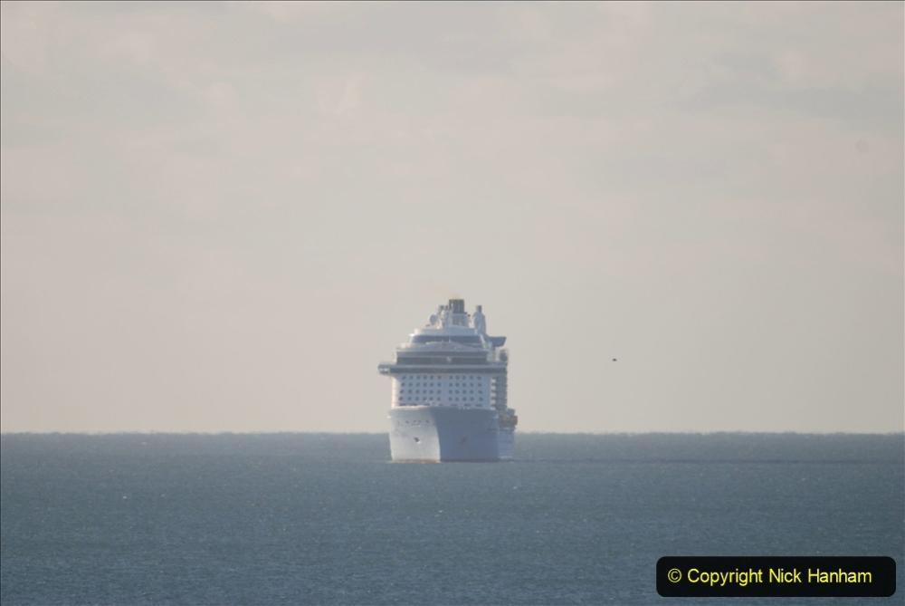 2020-09-26 Poole Bay. (2) Allure of the Seas. 12