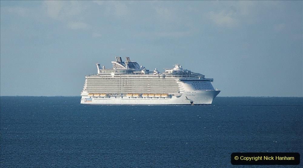 2020-09-26 Poole Bay. (4) Allure of the Seas. 14