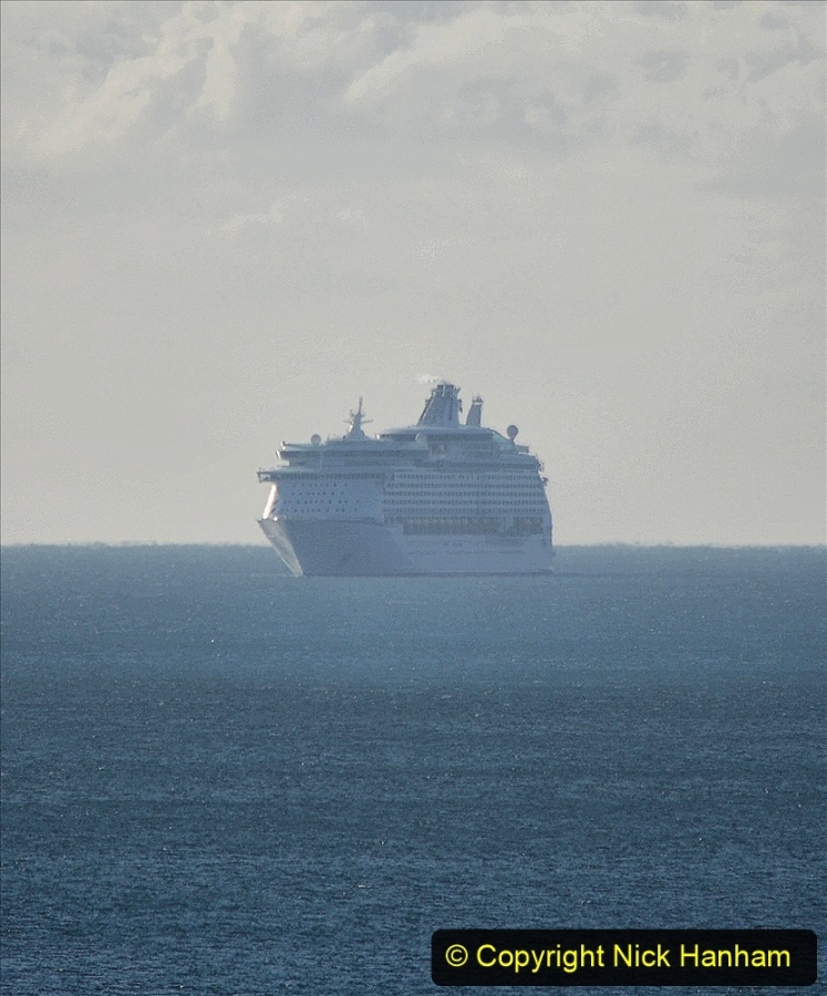 2020-09-26 Poole Bay. (12) Explorer of the Seas. 22