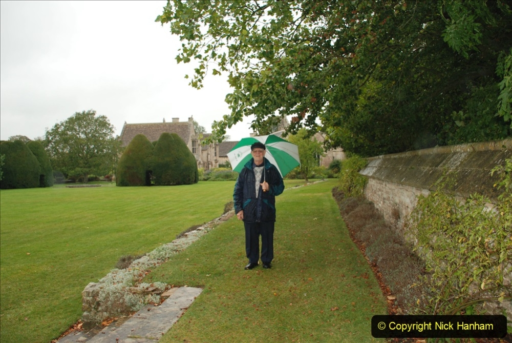 2020-09-30 Covid 19 Visit to Great Chalfield Manor & Gardens, Wiltshire. (33) Your Host. 033