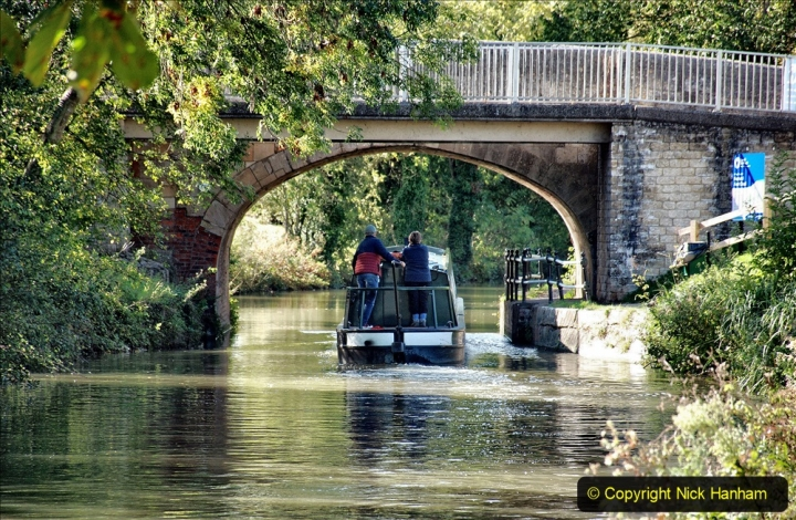 2020-10-01 Covid 19 Visit to The Kennet & Avon Canal in the Bradford on Avon area, Wiltshire. (206) 206