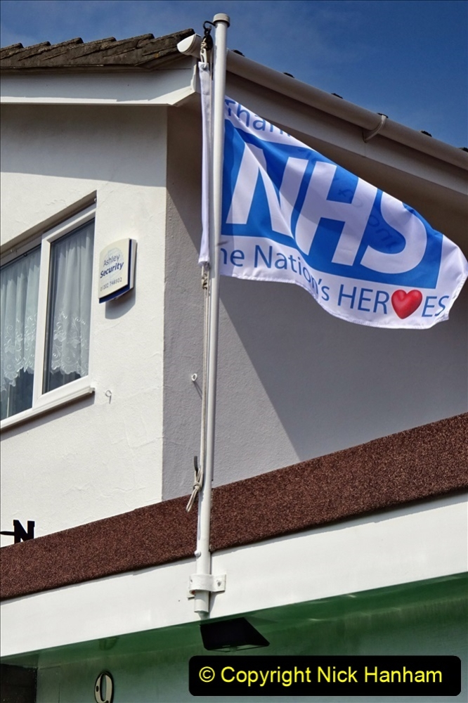 2020-09-11 Flag in support of NHS staff during Covid 19. (3) 374