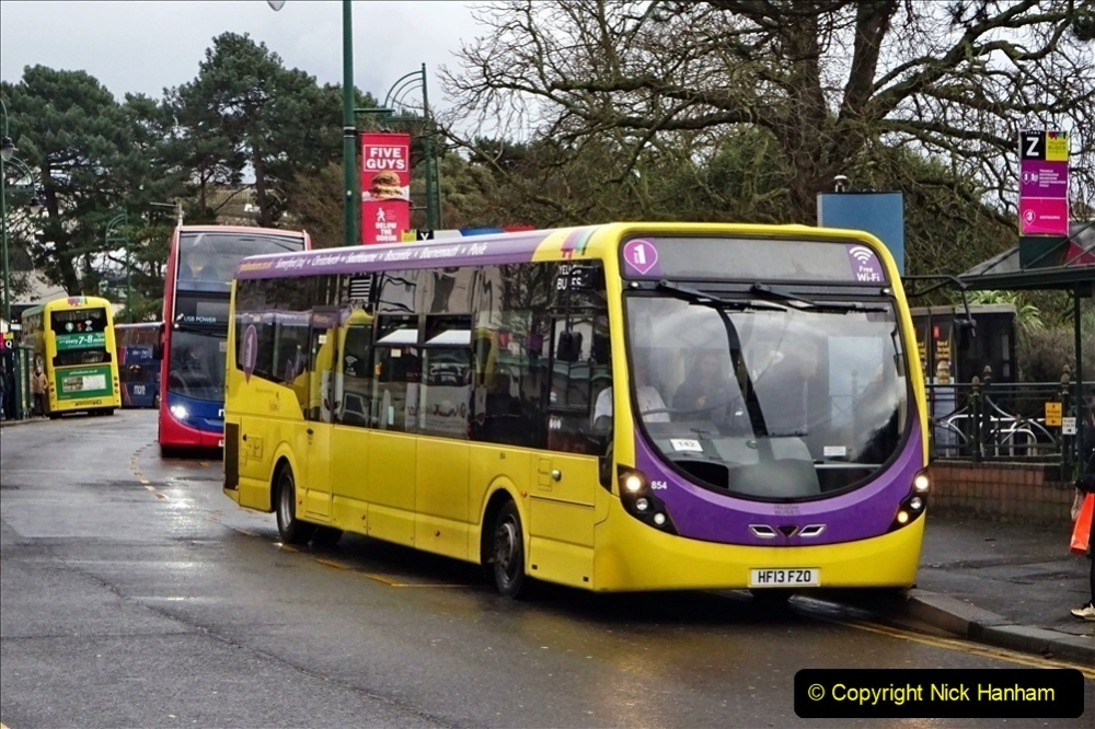 2020 02 18 More Yellow Buses in Bournemouth Dorset (10) 034