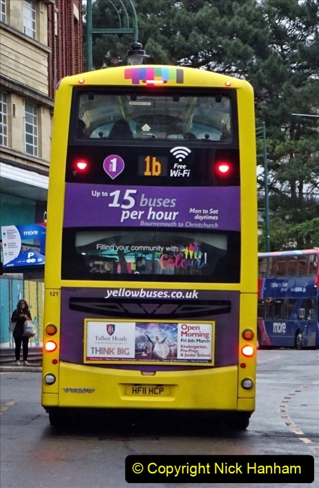 2020 02 18 More Yellow Buses in Bournemouth Dorset (21) 045