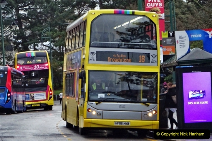 2020 02 18 More Yellow Buses in Bournemouth Dorset (27) 051