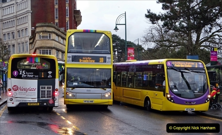 2020 02 18 More Yellow Buses in Bournemouth Dorset (31) 055