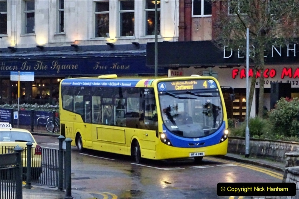 2020 02 18 More Yellow Buses in Bournemouth Dorset (34) 058