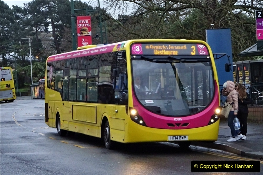 2020 02 18 More Yellow Buses in Bournemouth Dorset (35) 059
