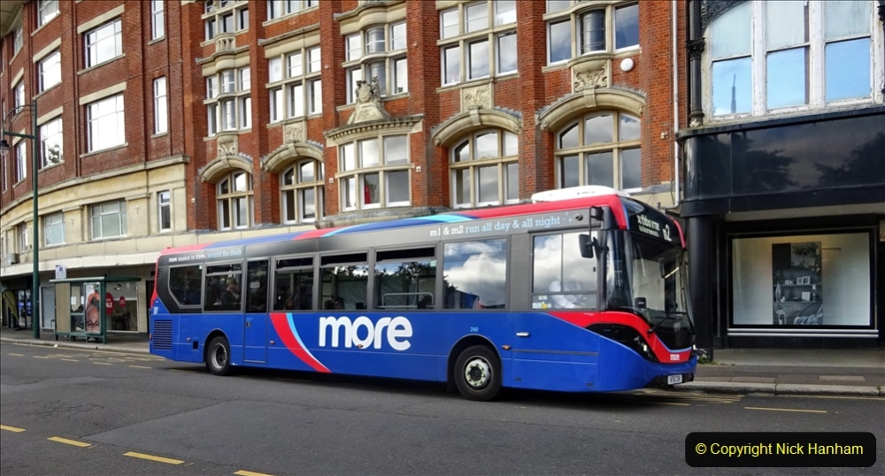 2020-09-09 More Yellow Buses Bournemouth Square. (2) 174