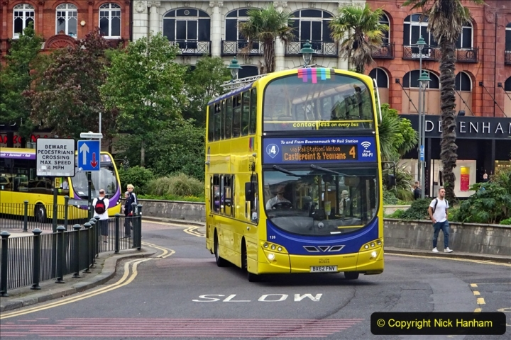 2020-09-09 More Yellow Buses Bournemouth Square. (16) 188