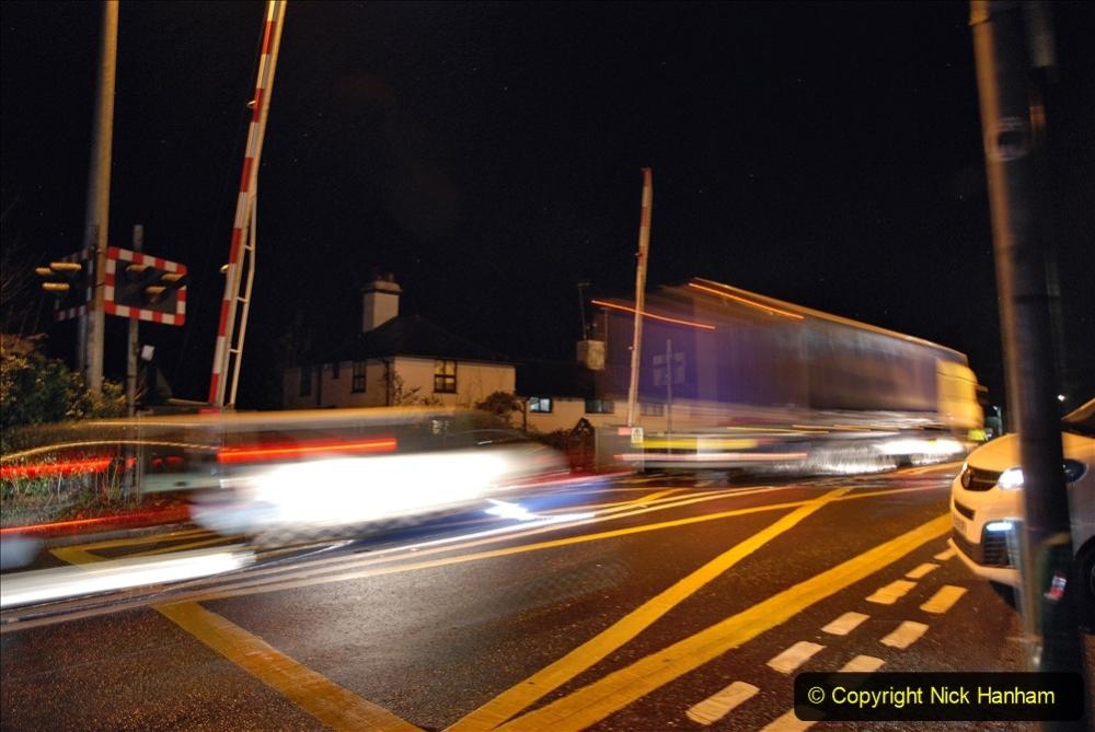2020-12-14 Tesco Express by night at Brockenhurst, Hampshire. (2) 201