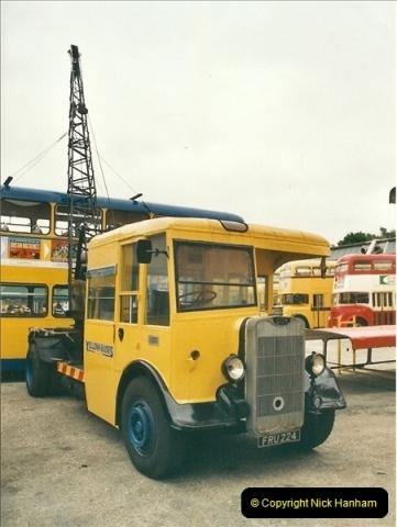 2002-06-30. 100 Years of Yellow Buses Open Day, Mallard Road Depot. Bournemouth, Dorset.    (10)025