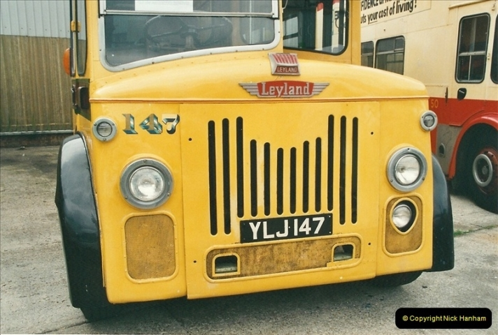 2002-06-30. 100 Years of Yellow Buses Open Day, Mallard Road Depot. Bournemouth, Dorset.    (16)031