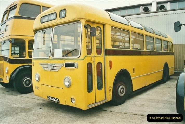 2002-06-30. 100 Years of Yellow Buses Open Day, Mallard Road Depot. Bournemouth, Dorset.    (17)032