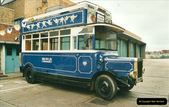 2002-06-30. 100 Years of Yellow Buses Open Day, Mallard Road Depot. Bournemouth, Dorset.    (47)062
