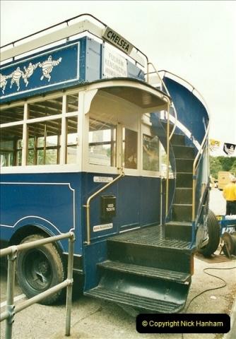 2002-06-30. 100 Years of Yellow Buses Open Day, Mallard Road Depot. Bournemouth, Dorset.    (49)064
