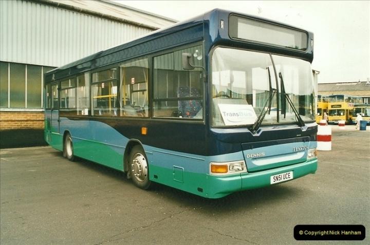 2002-06-30. 100 Years of Yellow Buses Open Day, Mallard Road Depot. Bournemouth, Dorset.    (55)070