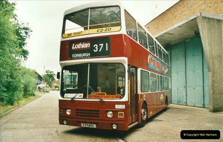 2002-06-30. 100 Years of Yellow Buses Open Day, Mallard Road Depot. Bournemouth, Dorset.    (59)074
