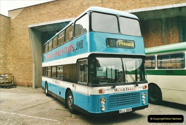 2002-06-30. 100 Years of Yellow Buses Open Day, Mallard Road Depot. Bournemouth, Dorset.    (61)076