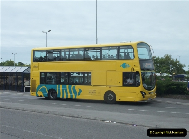 2011-08-30 Somerford, Christchurch, Dorset. New RATP Yellow Buses Livery.  (1)188
