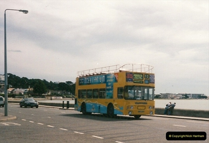Yellow Buses Bournemouth, Dorset. 1963 to  2011. Picture 009200