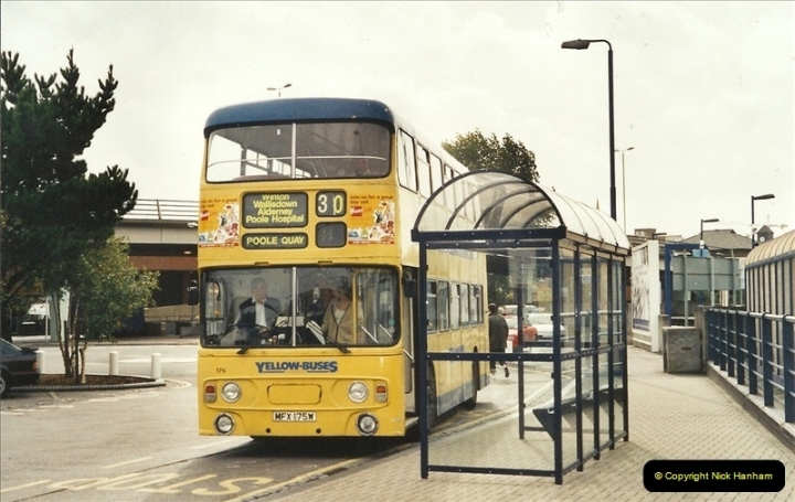 Yellow Buses Bournemouth, Dorset. 1963 to  2011. Picture 014205